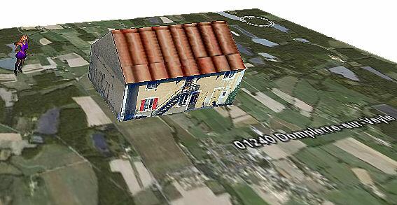 google earth , google Sketchup , et 3D Farmisa3