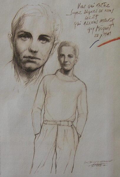 Ernest Pignon-ernest Moquetpignon